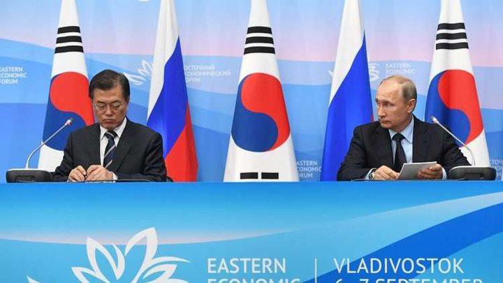 بوتين: موسكو ملتزمة بالمساهمة في العملية السلمية بشبه الجزيرة الكورية