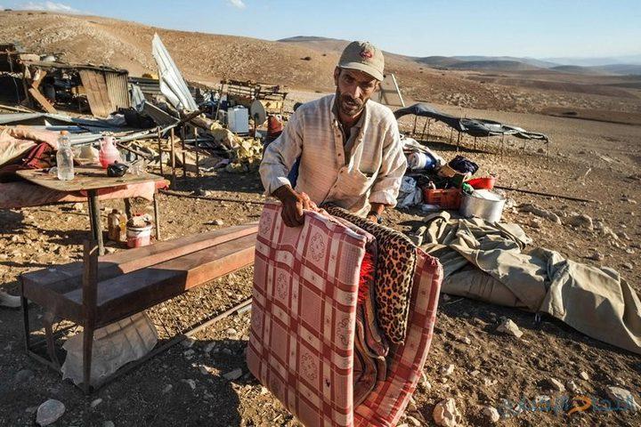 الاحتلال يخطر بطرد 21 عائلة بالأغوار بحجة التدريبات