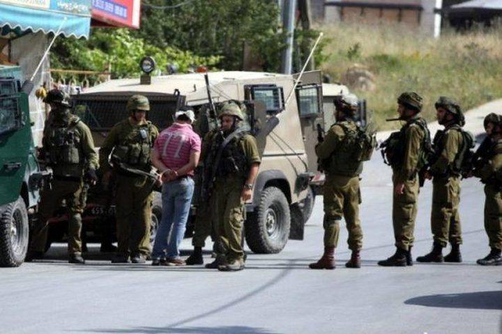 الاحتلال يعتقل الشاب صقر حمدية غرب جنين
