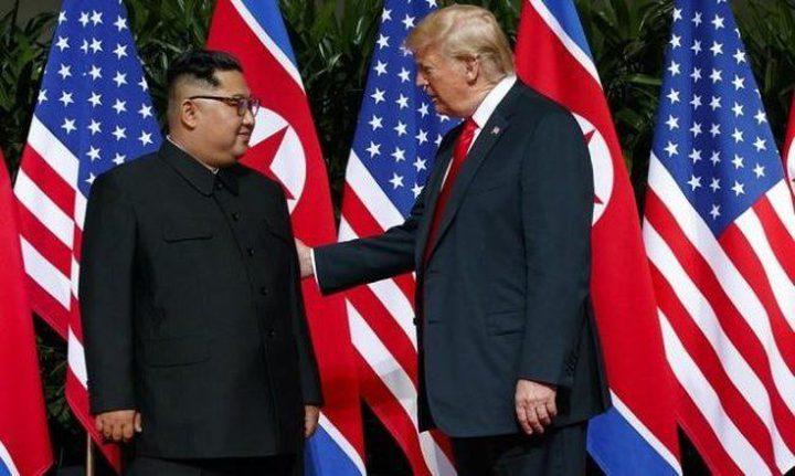 ترامب يعتبر التهديد النووي لبيونغ يانغ قائما