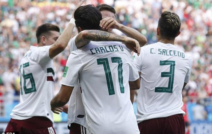 المكسيك تعبر كوريا الجنوبية بثنائية وتقترب من التأهل