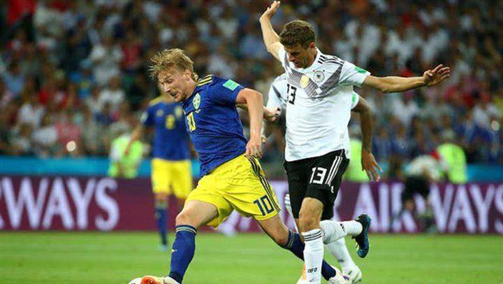 المانيا تنجو من مغادرة كأس العالم في الثانية الأخيرة امام سويسرا