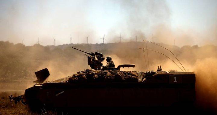 إطلاق النار تجاه المتظاهرين شرق دير البلح