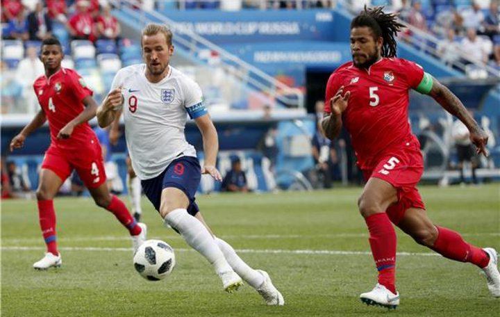 فوز انجلترا على بنما بستة أهداف مقابل هدف في كأس العالم