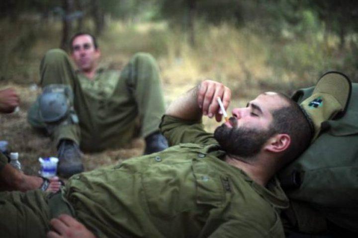 54% من جنود الاحتلال يتعاطون الحشيش
