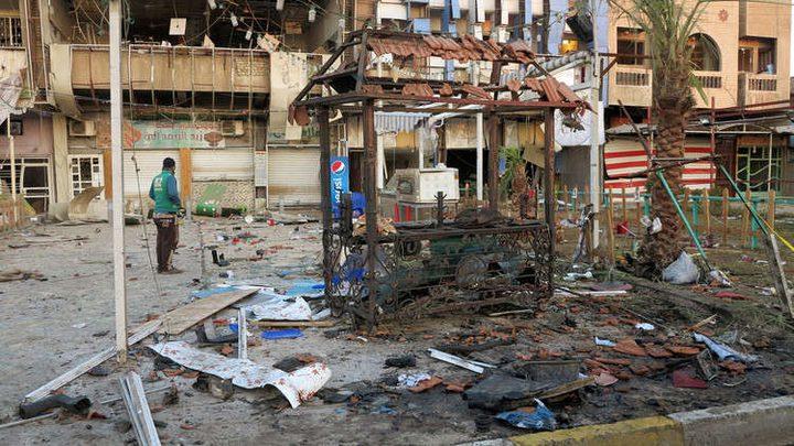 انفجار عبوة ناسفة شمالي بغداد