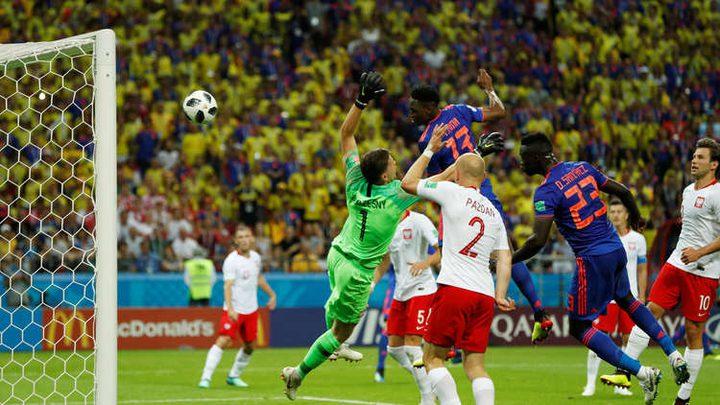 كولومبيا تقسو على بولندا بثلاثة أهداف نظيفة