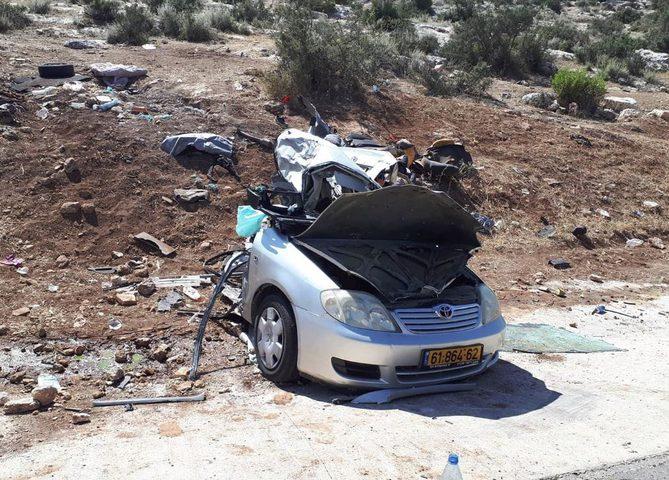 مصرع مواطنين وإصابة خطيرة في حادث سير شرق جنين