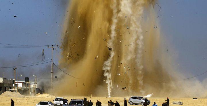 طائرات الاحتلال الحربية تقصف موقعًا للمقاومة وسط قطاع غزة