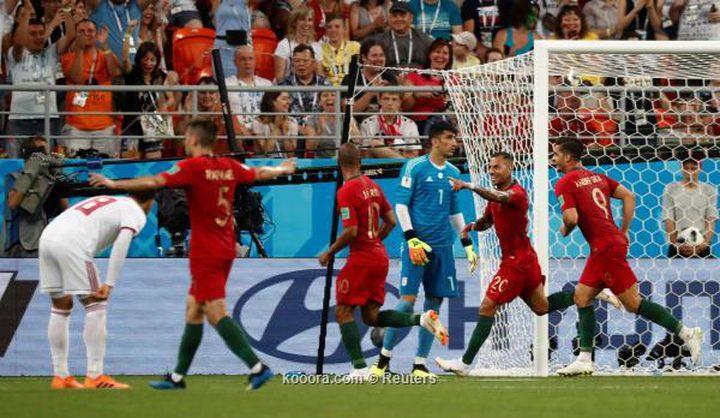 البرتغال تترك الصدارة لإسبانيا بالتعادل مع إيران
