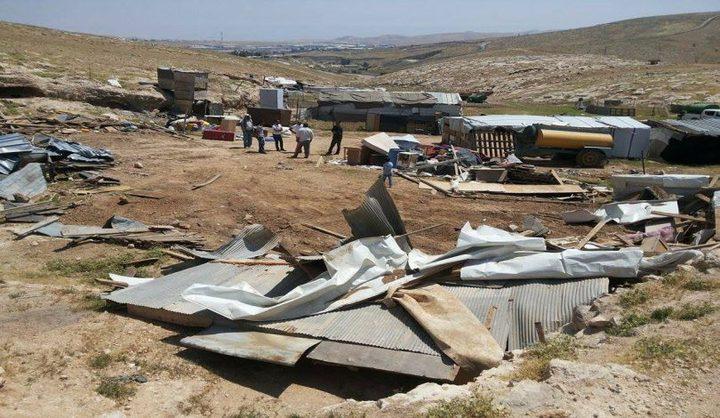 النتشة يدعو لمساندة بدو الخان الأحمر في مواجهة الاحتلال ومستوطنيه