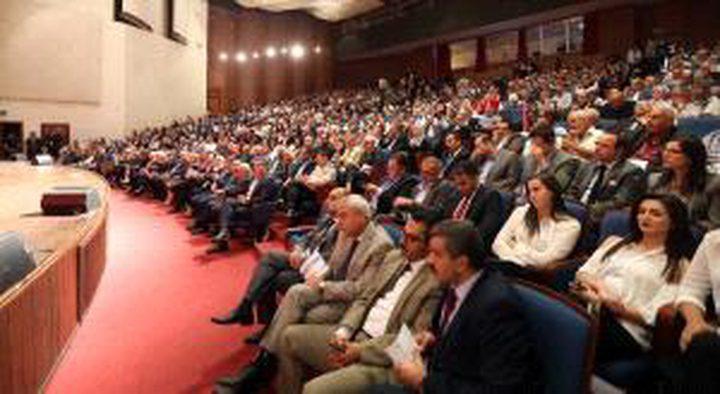انطلاق أعمال منتدى فلسطين الدولي الأول للمياه