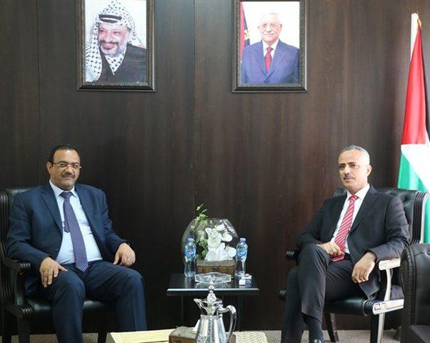 أبو دياك يبحث مع النائب العام سبل تطوير قطاع العدالة