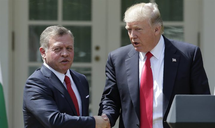 العاهل الأردني يلتقي ترامب في محاولة أخيرة للتأثير في خطة السلام