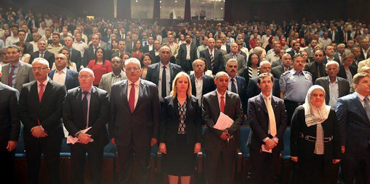افتتاح الجلسات العلمية في منتدى فلسطين الدولي الأول للمياه