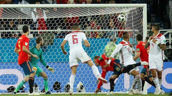 المغرب يحرج إسبانيا وإيران تعادل البرتغال