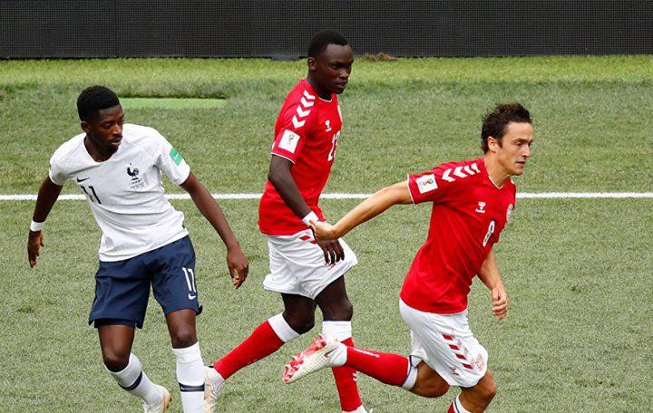 المونديال يشهد أول مباراة بدون أهداف بين فرنسا والدنمارك