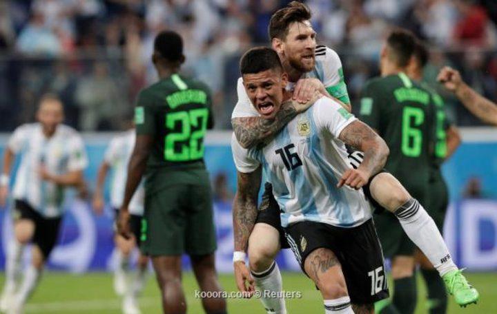 الأرجنتين إلى ثمن نهائي المونديال بفوز قاتل على نيجيريا