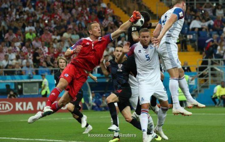 كرواتيا تطيح بأيسلندا خارج المونديال