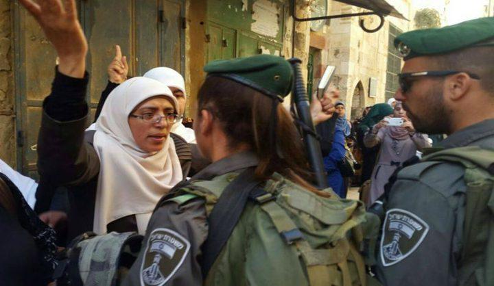 تقديم تقرير لحقوق الانسان حول انتهاكات الاحتلال بالقدس