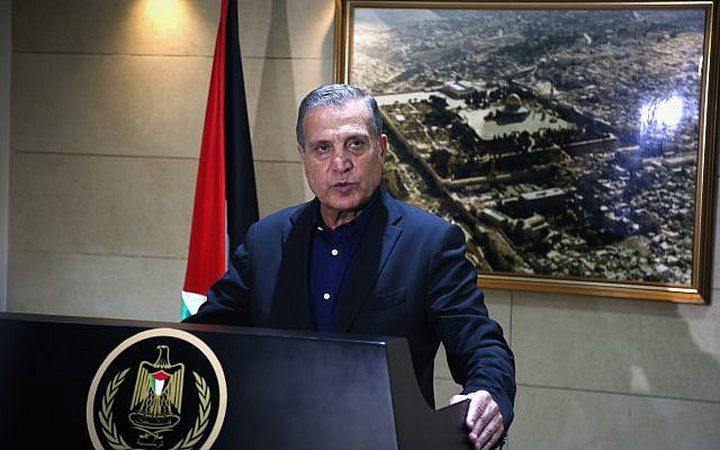 """أبو ردينة: ما يطرح من أفكار عبر ما يسمى""""صفقة القرن"""" هدفه إلغاء الهوية الفلسطينية"""