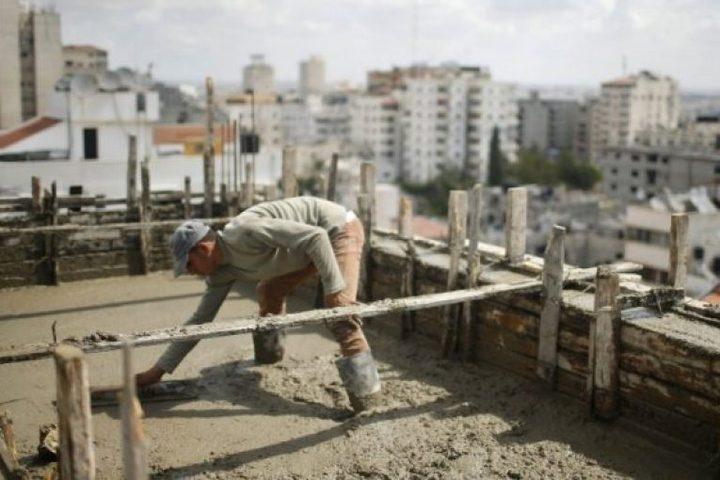 """""""الإحصاء"""" يعلن مؤشر أسعار تكاليف البناء والطرق وشبكات المياه وشبكات المجاري خلال الشهر الماضي"""