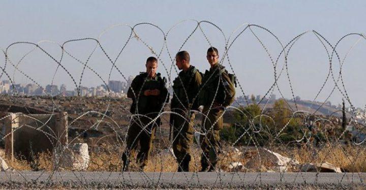 إطلاق النار تجاه شبان اقتربوا من السياج العنصري شرق خانيونس