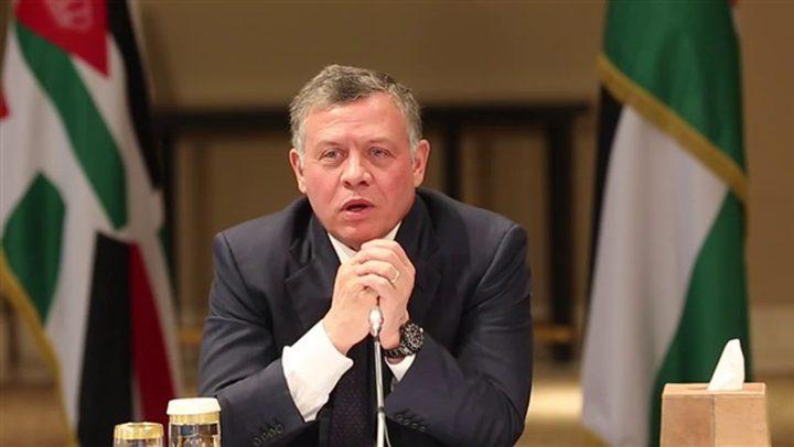 العاهل الأردني: مسألة القدس يجب تسويتها ضمن قضايا الوضع النهائي