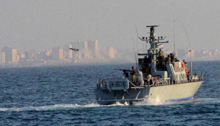 زوارق الاحتلال تطلق نيران رشاشاتها شمال بحر غزة