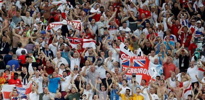 حرمان مشجعين إنجليز من حضور مباريات منتخبهم بسبب أغنية