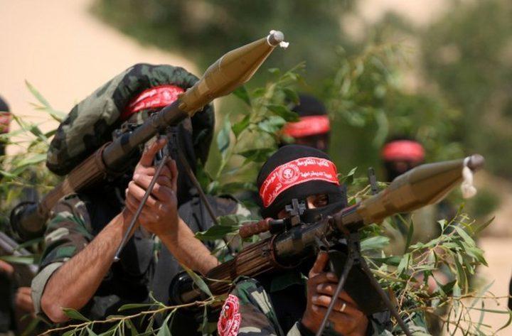 كتائب المقاومة تنشر مشاهد لتدريبات مقاتليها (فيديو)