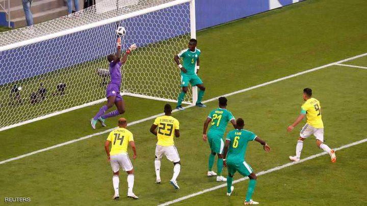البطاقات الصفراء تحرم السنغال من التأهل للدور الثاني بعد فوز مثير لكولومبيا