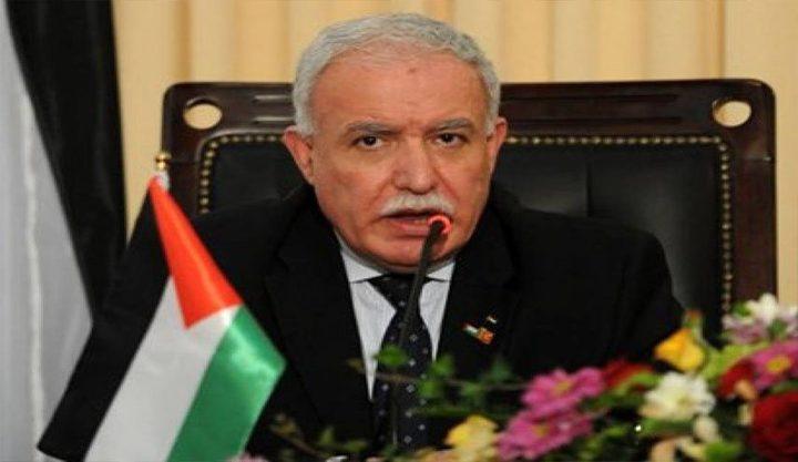 المالكي يطلع مسؤولين دوليين على الانتهاكات الإسرائيلية المتصاعدة