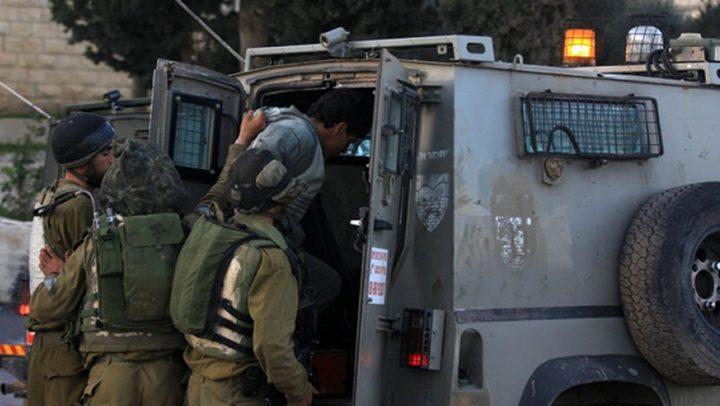 اعتقال 3 شبان جنوب نابلس