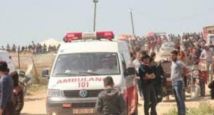 الاحتلال يستهدف الطواقم الطبية على حدود غزة