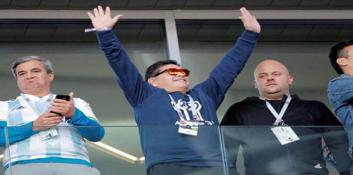 """""""فيفا"""" يطالب مارادونا بالهدوء واحترام المنافسين"""