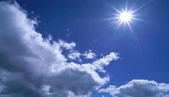 حالة الطقس: غائم جزئي إلى صاف اليوم والحرارة بارتفاع حتى الإثنين
