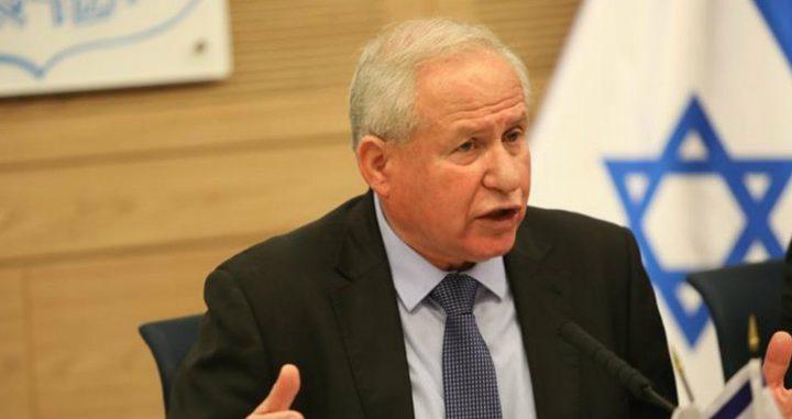 ديختر: الطريق لوقف إطلاق الطائرات والبالونات الحارقة هي الحرب ضد غزة