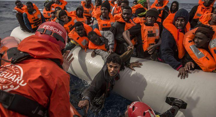 ليبيا تنقذ 270 مهاجرًا غير شرعي قبالة سواحلها
