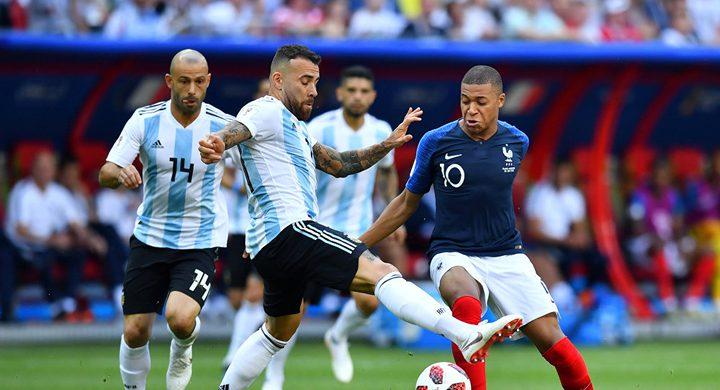 ضياع حلم ميسي.. فرنسا تفوز على الارجنتين باربعة اهداف مقابل ثلاثة