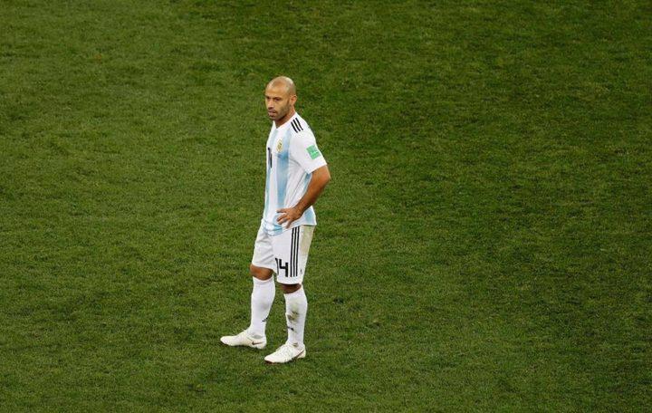 رسميا.. ماسكيرانو يعتزل اللعب الدولي بعد وداع الأرجنتين لكأس العالم