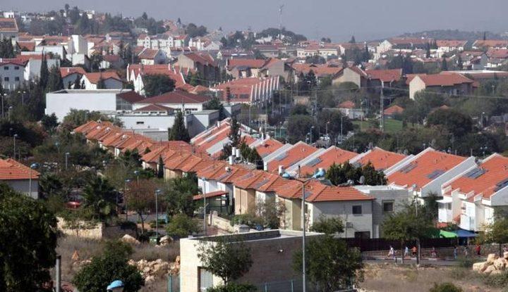 نشاط استيطاني بالضفة ومخصصات حكومية اسرائيلية للتعليم الزراعي في المستوطنات