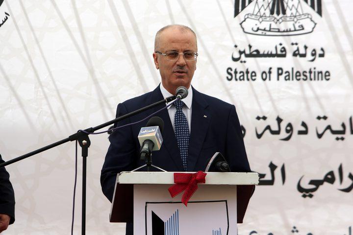 الحمد الله: شعبنا ملتف حول موقف الرئيس المتمسك بالثوابت ولن نقايض على حقوقنا