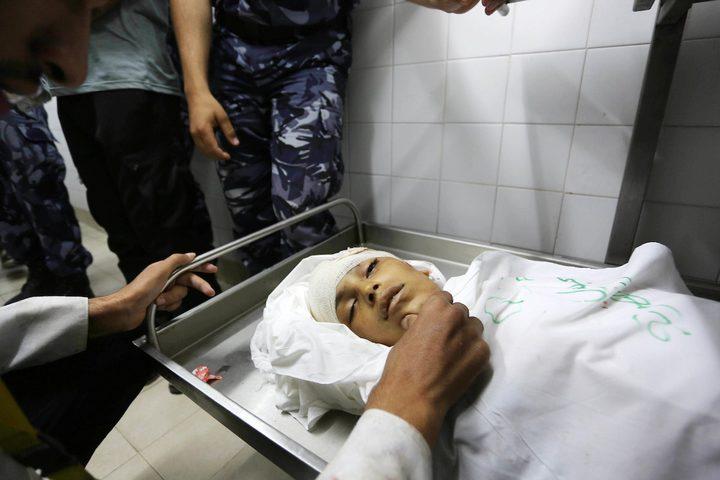 غزة تشيع جثمان الشهيد الطفل ياسر ابو النجا بمشاركة قيادات حماس وفتح