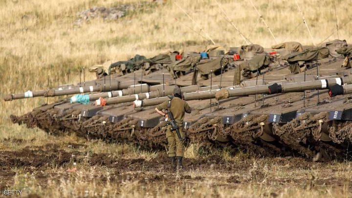 """إسرائيل تعزز جيشها بالجولان وتلوح بـ""""الرد القوي"""""""