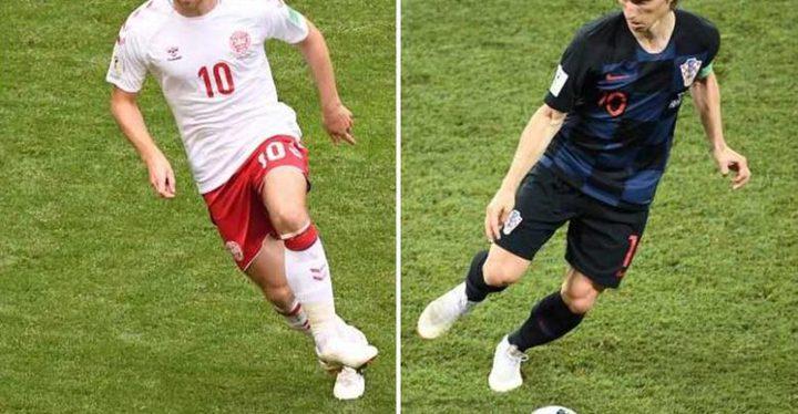 كرواتيا تفوز بشق الأنفس على الدنمارك بركلات الترجيح