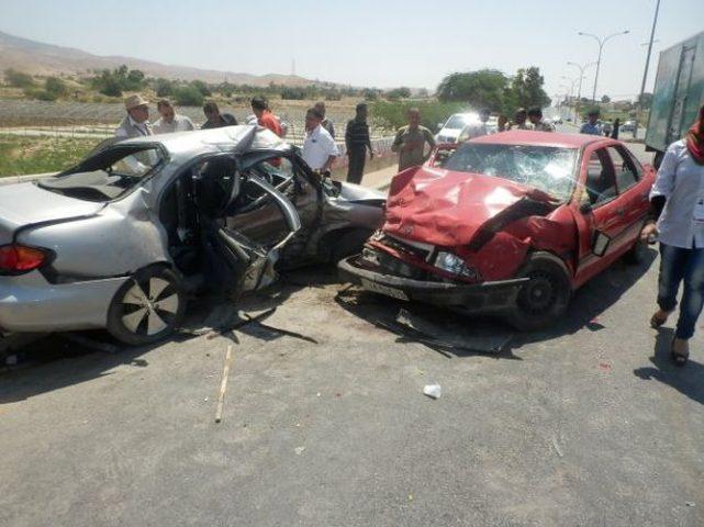 مصرع اربعة اشخاص و 283 إصابة في 213 حادث سير الاسبوع الماضي