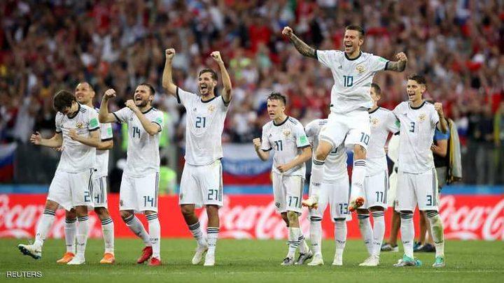 إسبانيا تَخرج من كأس العالم  بعد ضربات الترجيح امام روسيا بنتيجة 5/4