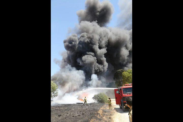 طائرات الاحتلال تستهدف مطلقي البالونات الحارقة شرق غزة