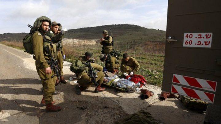 إصابة جندي إسرائيلي بانفلات رصاصة